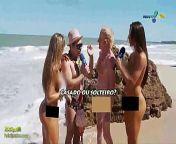 Panico na TV (,brunette, Nicole Bahls and Juliana Salimeni, blonde from ehehe tv