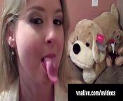 Sunny Lane Sucks Neighbor's Cock in Home Video VNALive.com! from sunny bf do