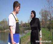 Hot outdoor muslim fuck from munke hij