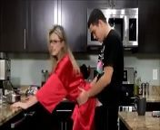 Cory Chase in Young Son Fucks his Hot Mom in the Kitchen from son seduce mom in kitchen movie 5 min down
