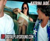 Digital playground - Inked goth Katrina Jade fucks big cock in horor movie parody from www xx sex katrina kai