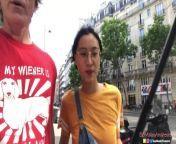 Chinese Asian June Liu Creampie - SpicyGum Fucks American Guy in Paris x Jay Bank Presents from june liu